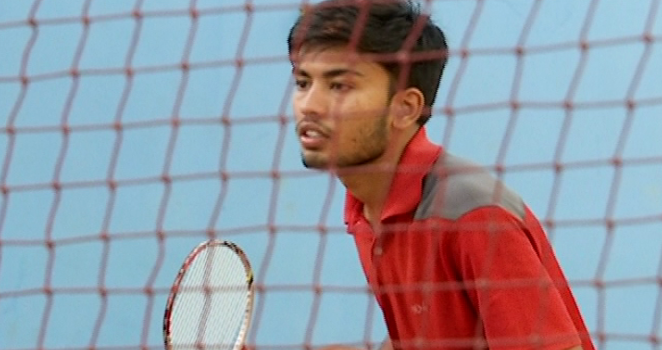 Not A Racquet To Call His Own, Roshan Singh Rules Badminton Courts
