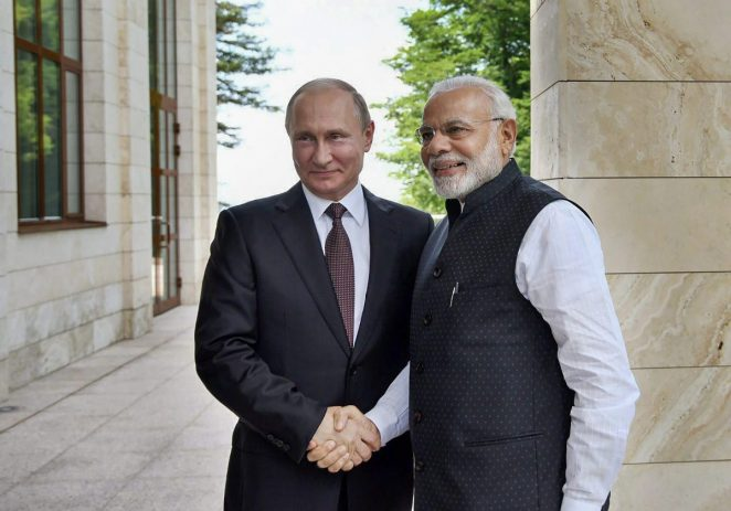 Modi tells Putin won't go back on $4.5 billion defence deal