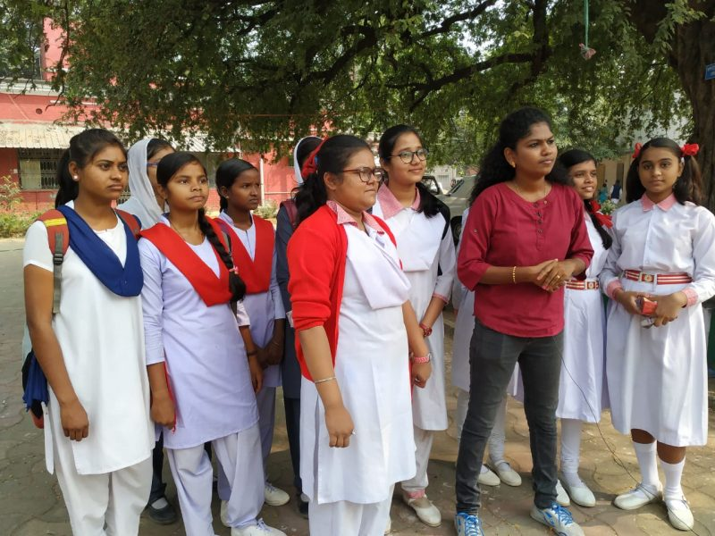 It is still a taboo in a country like India to talk about menstrual hygiene. But Purulia District in West Bengal sets an example to rest of the country by its Kanyashree Group of Adolescent Girls. This Group talks to the local community about the importance of Menstrual Hygiene, Child marriage, and its social Change. Initially, the locals ignored them, but they refused to give up. Today they have become game changers with their work in creating awareness leading to the reduction in cervical disease among women.