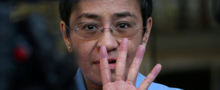Arrest Of Maria Ressa Is Persecution By A Bully Government