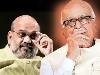 ADVANI OUT OF BJP's LS LIST, AMIT SHAH IN