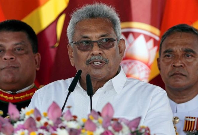 Sri Lanka gets its first president with military credentials