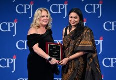 Journalist and SAWM member Neha Dixit receives CPJ Press Freedom Award and dedicates it to the journalists without resources