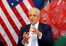 India should talk directly to Taliban, says U.S. Special Envoy Zalmay Khalilzad