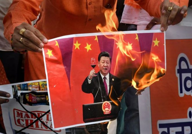 'China expects us to behave the way China would!'